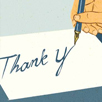The Inimitable, Irreplaceable & Mandatory Handwritten Thank-You Note